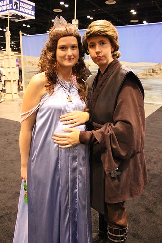 Anakin and Padme - Star Wars Celebration VI