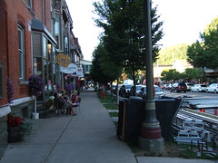 Beautiful downtown Ellicottville