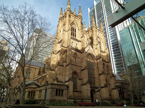 St. Andrew's Anglican Cathedral - Sydney, NSW