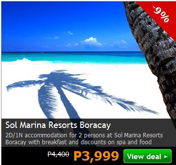 Sol Marina Resorts Boracay Promo