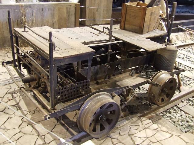 Fairbanks Morse Motor Car 1 California State Railroad