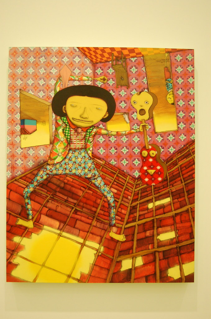 OS GEMEOS show at ICA Boston...
