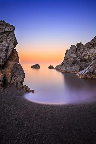 sea italy seascape landscape coast calabria