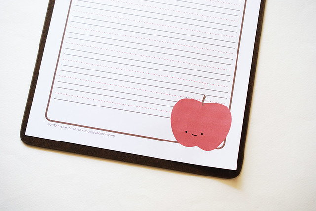 Printable Apple Paper