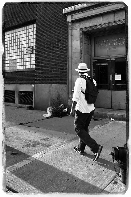 A Photographer in Fulton Market