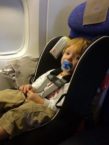 Installing Forward Facing Car Seat On Airplane