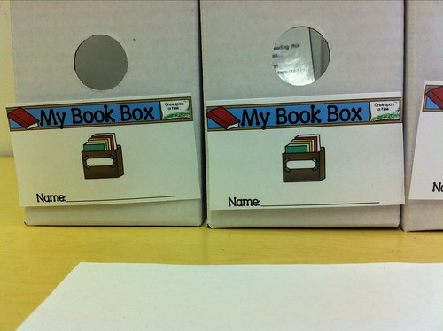 Book Box Label