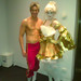 Human Statue Bodyart