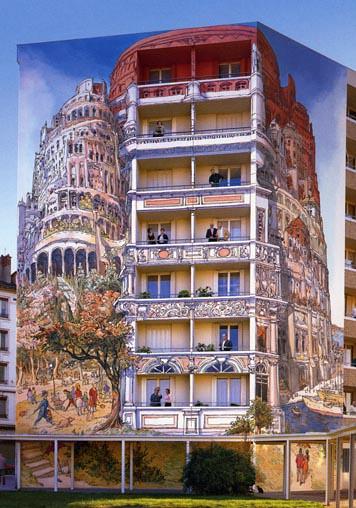 mur+peint+Babel