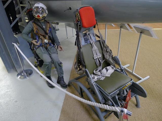 Original-Starfighter-Schleudersitz Typ C2