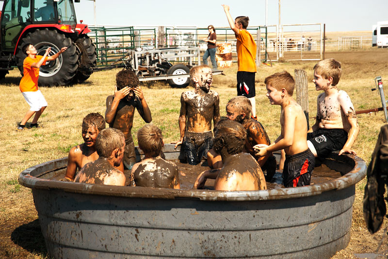 Rub-a-dub-dub a bunch of muddy boys in a tub - a photo on Flickriver