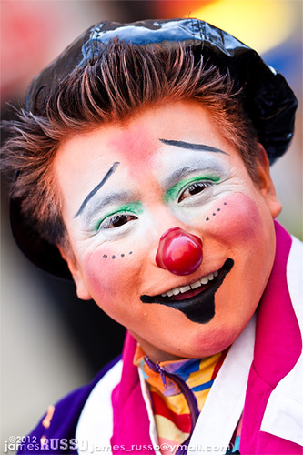 Happy Clown Makeup