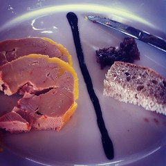 And what better way to celebrate than with foie gras