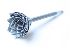 Duct-Tape Rose Pen by Cobra_11