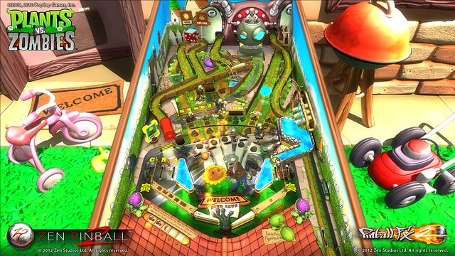 Zen Pinball 2: Plants vs. Zombies Table