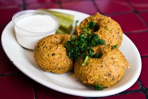 Falafel at Tyma'z