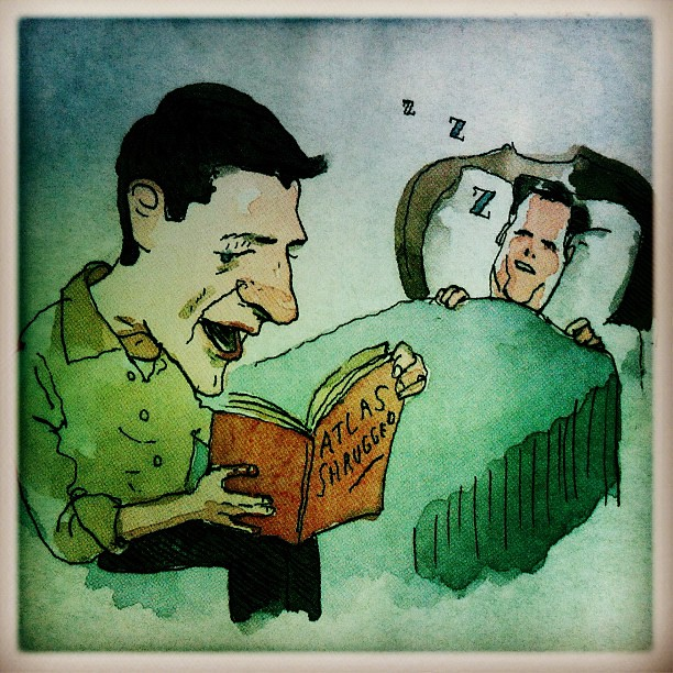 Bedtime Story  drawing by Barry Blitt