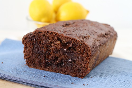 melty chocolate banana bread
