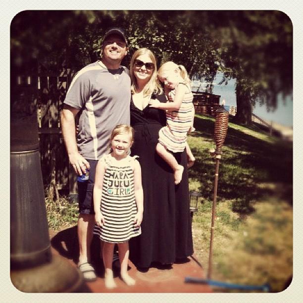 Family pic at the lake:-)