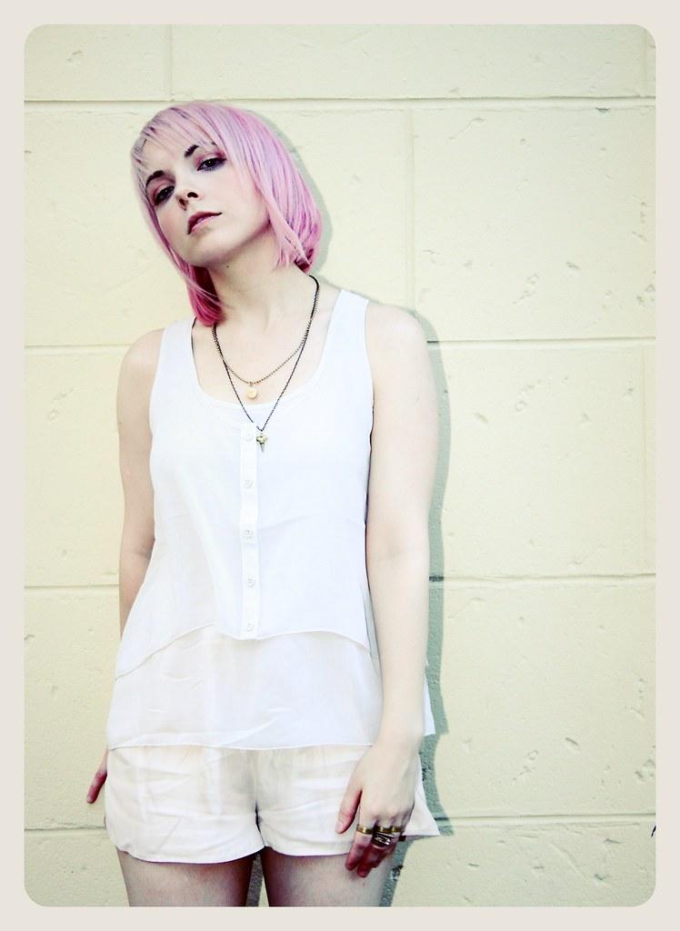 pastel goth summer pink