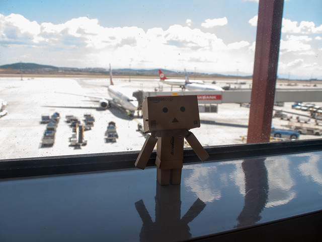 Danboard at SAW airport