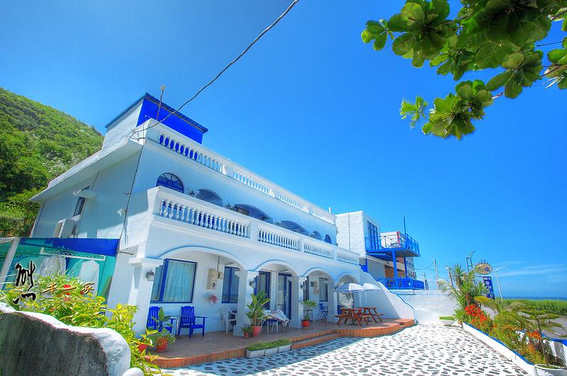 [花蓮面海住宿] 聖托里尼地中海風格海景民宿~太平洋旁的藍白希臘風