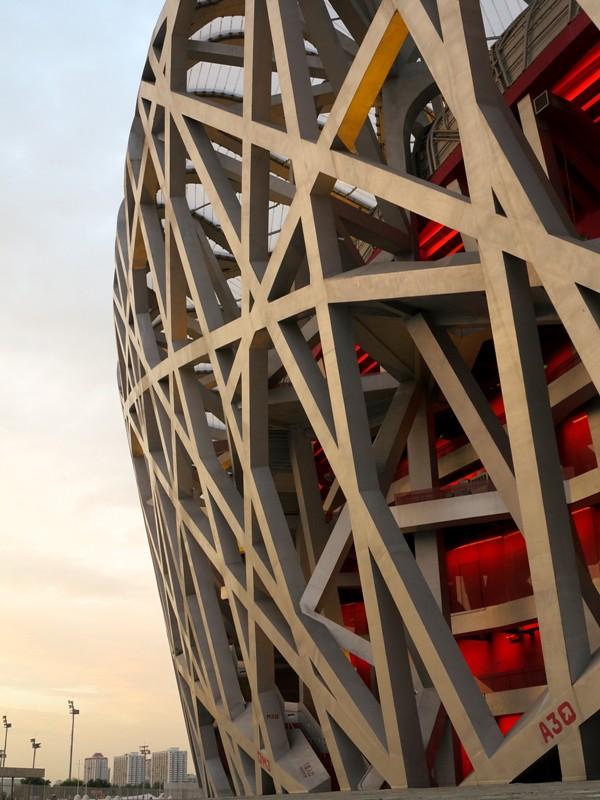"Stade olympique ""Le Nid d'Oiseau""@Beijing"