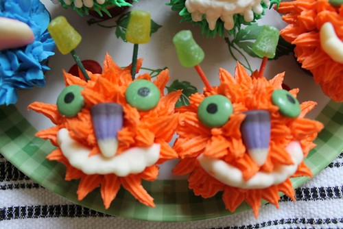 Mini Monster Cupcakes - 2