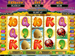 Honey to the Bee Free Spins