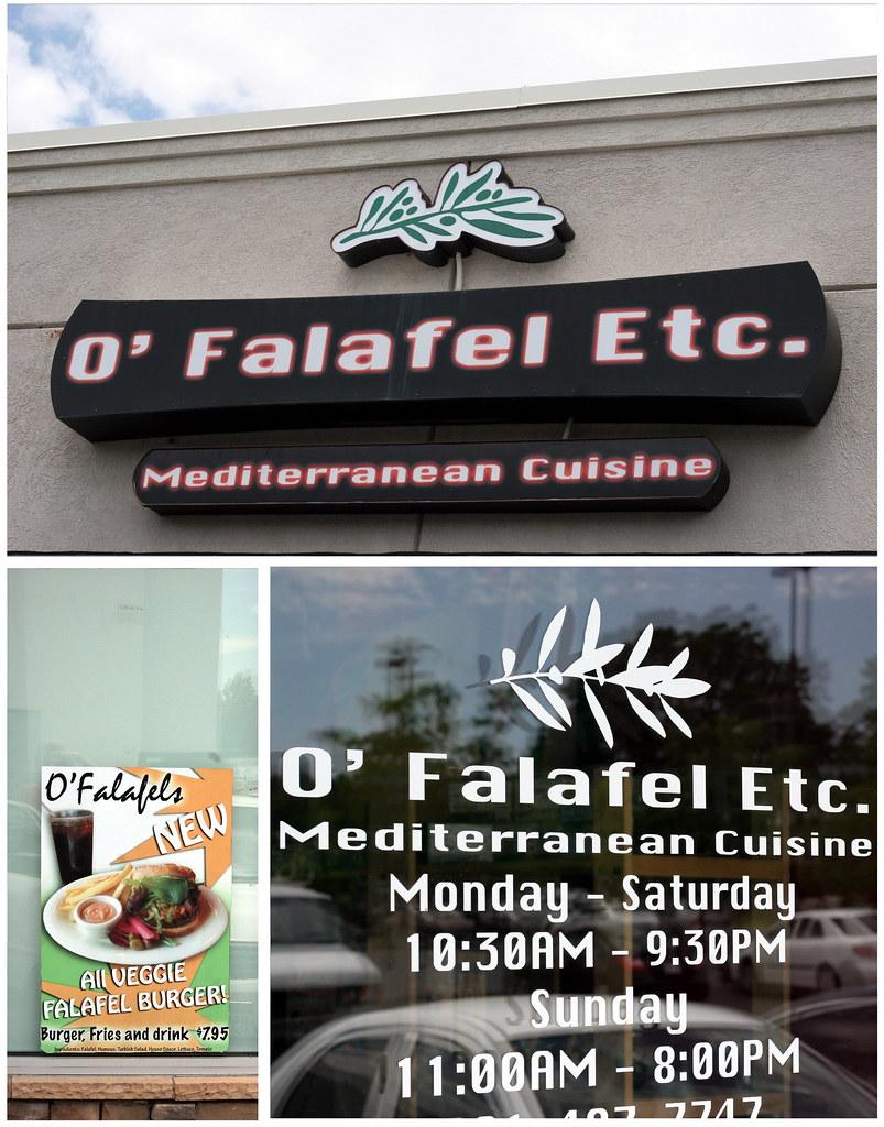 o falafel signs