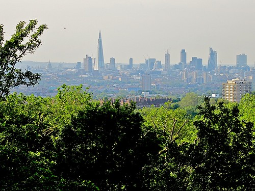 London from One Tree Hill