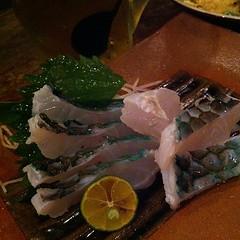 イラブチャーお刺身 #okinawa #dinner あっさり。