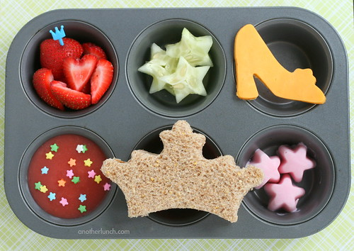 Princess Muffin Tin Meal