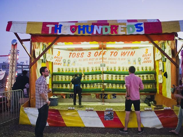 The Hundreds Carnival @ FYF 2012