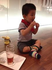 エビスビール記念館にて (2012/9/2)