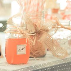 wedding favors, baby shower, mason jar,