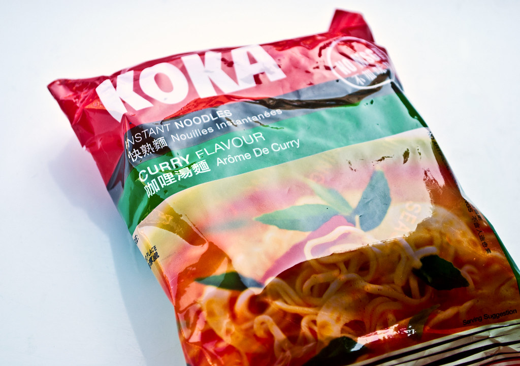 Koka Curry Noodles Wrapper