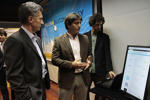 Mauricio Macri se reunió con las empresas de la misión a Silicon Valley