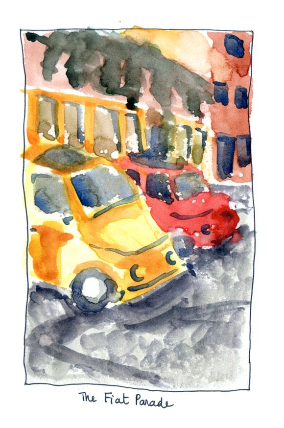 The Fiat Parade