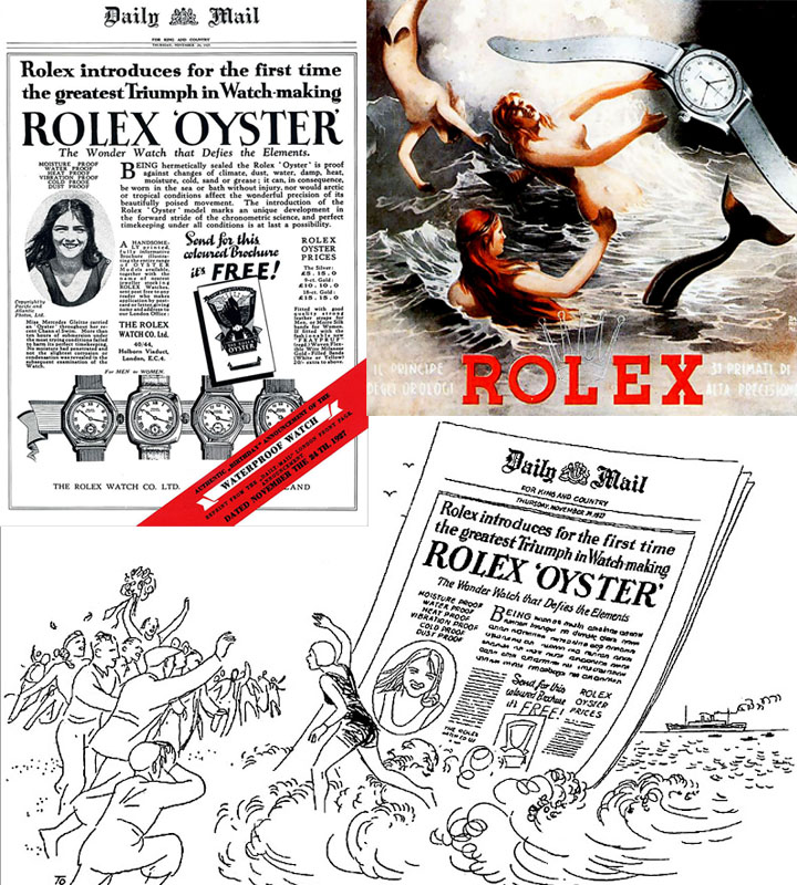 Rolex Oyster Advertorial