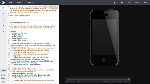 CSS3 iPhone