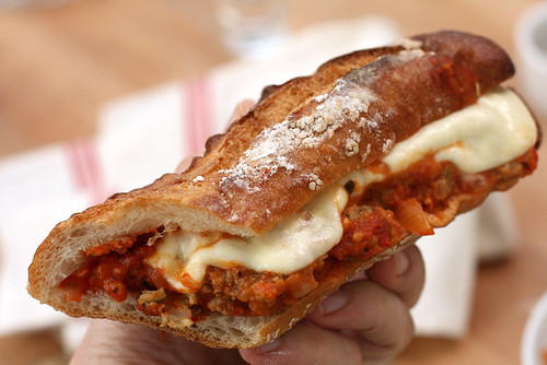 Meatball Sandwich - David Lebovitz
