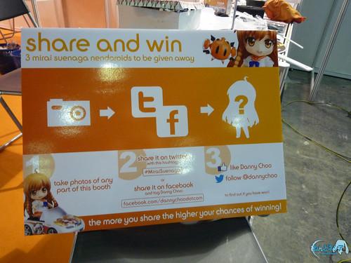 Nendoroid Suenaga Mirai giveaway contest