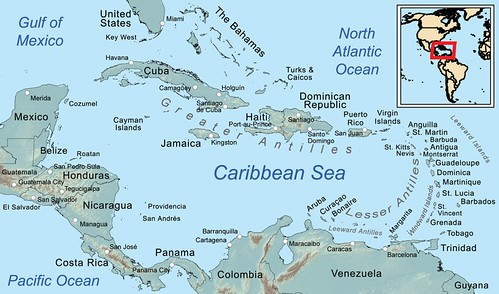 Caribbean_general_map by trudeau