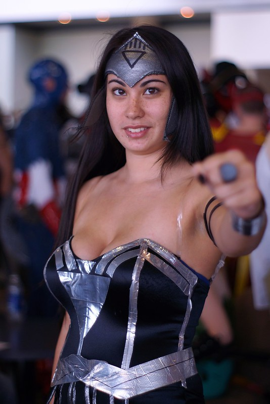 Black Lantern Wonder Woman Cosplay - Baltimore Comic-Con 2012