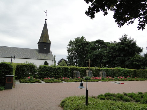Church of Ladelund and graves of KZ victims