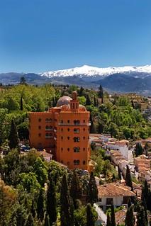 Vista del Alhambra Palace.