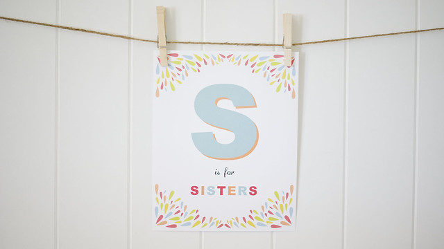 S Is For Sister