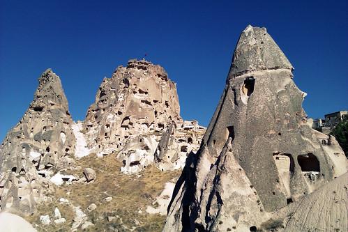 Uçhisar y Castillo de Uçhisar