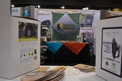 ECO-CELL posted a photo:	ECO-CELL exhibit near our long-time partners at the Dian Fossey Gorilla Fund International